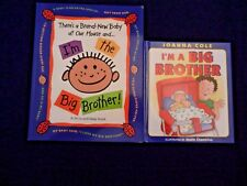 Lot of 2 Big Brother;I'm A Big Brother,I'M the Big Brother-Fill in book,VG,FR SH