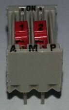 1 pc.  AMP  2 poliger DIP-Schalter Codierschalter  5161390-2   DIP4   NEU  #BP
