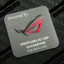 Powered By Republic of Gamers Asus ROG Sticker