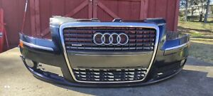 ✅ 06 07 08 09 10 Audi A8 S8 Front Bumper Cover w Grille w Fogs COMPLETE Assembly