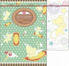Card Captor Sakura notebook and sticker set CLAMP official anime