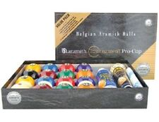 Belgian SUPER ARAMITH Tournament Pool Balls Set Value Pack NEW Billiard ARVP