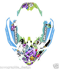 !Seadoo Spark trixx Bombardier 2up + 3up Jet Ski Graphic Kit Decal Wrap Custom