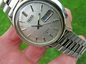 Rare Vintage SEIKO Automatic 7009-8270-p from December 1979 working keeps time