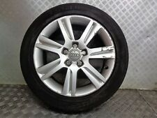 2008 AUDI A4 17'' 5 STUD ALLOY WHEEL & TYRE 225/50ZR17 ( SEE ALL PICTURES )
