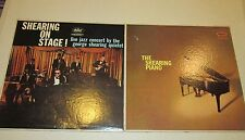 Lot of 2 vint 33 rpm.1950-70's Jazz -George Shearing - Live Concert On Stage