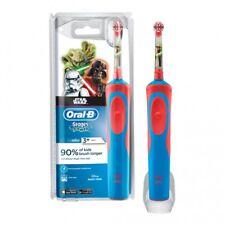Cepillos de dientes eléctricos azules Braun