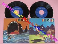 LP 45 7'' PINOCCHIO 1 e 2 parte LINO VEZZA italy FONOLA N.3 N.4 no vhs dvd