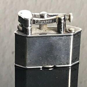 Dunhill Taschenfeuerzeug Made in England ca. 1926 versilbert