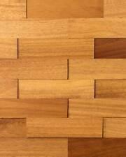 wodewa Holz Wandverkleidung Iroko natur   Echtholz I  Holzpaneele 3D