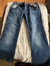 Baby Phat Womens Denim Jeans Size 9 Regular Stretch Boot Cut