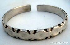 sterling silver jewelry bangle bracelet tribal antique