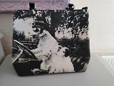 Butler & Wilson Black & White Driving Dogs Bag. BNWOT