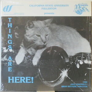 California State University Fullerton JAZZ ENSEMBLE I (1988) Things Are Here! LP