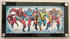 2017 Upper Deck Marvel Premier Al Milgrom Ant Man Wasp Triple Panel Sketch Card