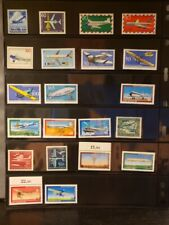 Germany Aircraft & Aviation Stamps Lot of 29 - MNH - See Details for List