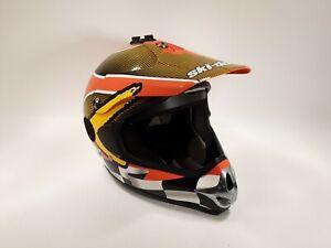 SKI-DOO BOMBARDIER Motocross Enduro Helmet Size Mens Large See Pictures     (17)