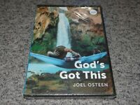 God's Got This by Joel Osteen Ministries 3 Message CD/DVD Set BRAND NEW & SEALED