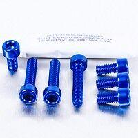 AUDI TT  Mk1 fuel flap anodized bolts BLUE !! WOW