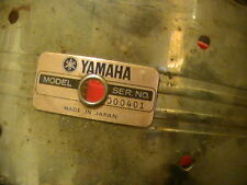 Yamaha Steele 5x14 Snare Drum for parts or clean up & Restore SD-650-MG OOO41