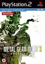 Metal Gear Solid 3: Snake Eater Sony Playstation 2 PS2 PAL Brand New