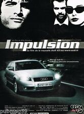 Publicité advertising 2003 Audi A3 film Impulsion