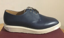 DR. MARTENS TORRIANO NAVY TUCSON  LEATHER  SHOES SIZE UK 10