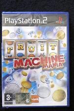 PS2 : FRUIT MACHINE MANIA - Nuovo, risigillato ! Ore di divertimento assicurato!