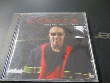 """CD """"STEVIE WONDER : BALLAD COLLECTION"""" best of"""