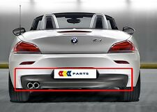 BMW NEW GENUINE E89 Z4 09-17 REAR M SPORT BUMPER DIFFUSER DOUBLE MUFFLER HOLE