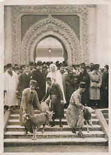PARIS c. 1930 - Fête Musulmane Moutons Ben Ghabrit  Mosquée de Paris - PRM 439