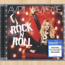 Avril Lavigne Rock N Roll Walmart 2-Track Cd Single Instrumental Version 0912