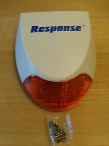 Response Alarms 868mhz live siren brand new includes new batteries and fittings,