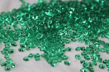 5000 X Vert 4.5mm jour de la St.Patrick Diamant Décoration de table Confetti