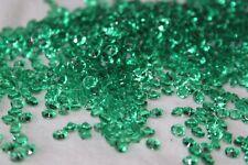 10000 x GREEN 4.5MM WEDDING DAY DIAMOND CONFETTI TABLE DECORATION UK SELLER