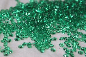 50000 x GREEN 4.5MM ST PATRICKS DAY DIAMOND CONFETTI TABLE DECORATION UK SELLER