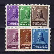 LUXEMBOURG Yvert n° 276/281 neuf avec charnière