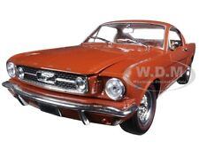 1966 FORD MUSTANG 2+2 GT FASTBACK EMBERGLO METALLIC 1/24 MODEL BY M2 40300-49C