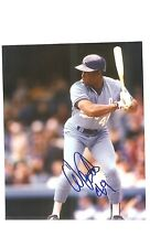 WARREN CROMARTIE  KANSAS CITY ROYALS SIGNED 8X10