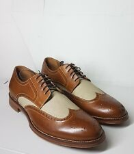 J&M Men's Two Tone Brogues UK9.5 (US10.5)  W/o Box Authentic Surplus New