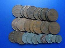 27  OLD IRISH COINS 1928 - 1968. FINE.