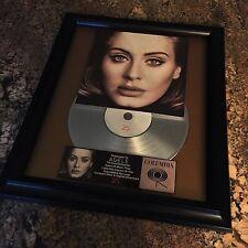 Adele 25 Platinum Record Disc Album Music Award MTV Grammy RIAA