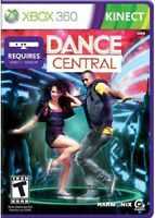 Dance Central Xbox 360 Kinect Dance Hiphop Pop Funk Music Video Game Disc Manual