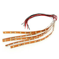 DD05W 5pcs Prewired Bright White Strip Led Light Self-adhesive 12V ~ 18V 20CM