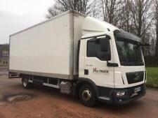 2014 Euro 5 MAN/ ERF TGL 7.180 7.5 tonne box truck