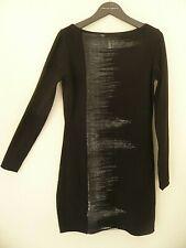 Robe noir et gris Sarah Pacini neuf