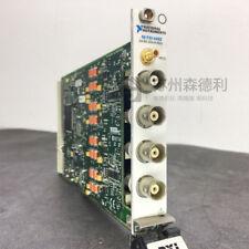 USED NI PXI-4462 24-Bit 204.8 kS/s Sound Vibration Audio Analyzer