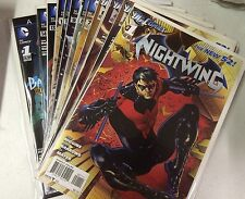 DC 52 Nightwing #1 2 3 4 5 6 7 8 9 10 11 12 13 14 + Annual #1! All 1st Prints!