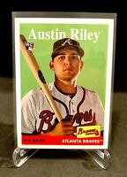2019 Topps Archives RC Rookie AUSTIN RILEY Rookie Card - Braves