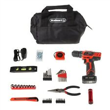 20V Cordless Drill Set Tool Bag Travel Portable Car Trunk Garage Handy Man Set